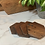 Thumbnail: Wood Coasters (Set of 4)