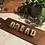 Thumbnail: Gold Ombré Concrete Letters (Single)