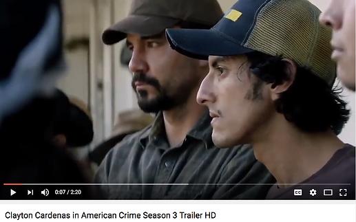 Clayton Cardenas in American Crime Season 3