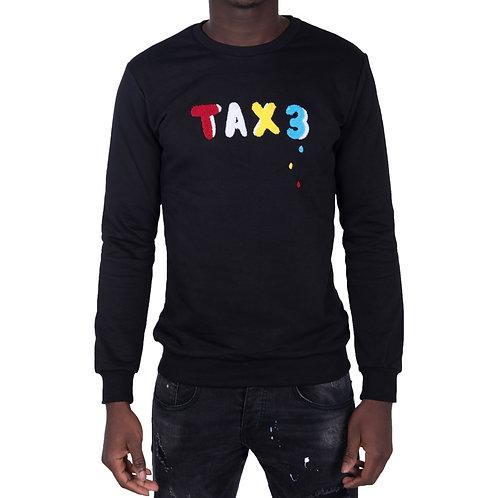 Tax3 Drip Jumper - Black