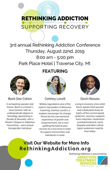 3rd annual Rethinking Addiction Conferen