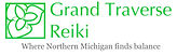 Grand Traverse Reiki logo 2 with tagline
