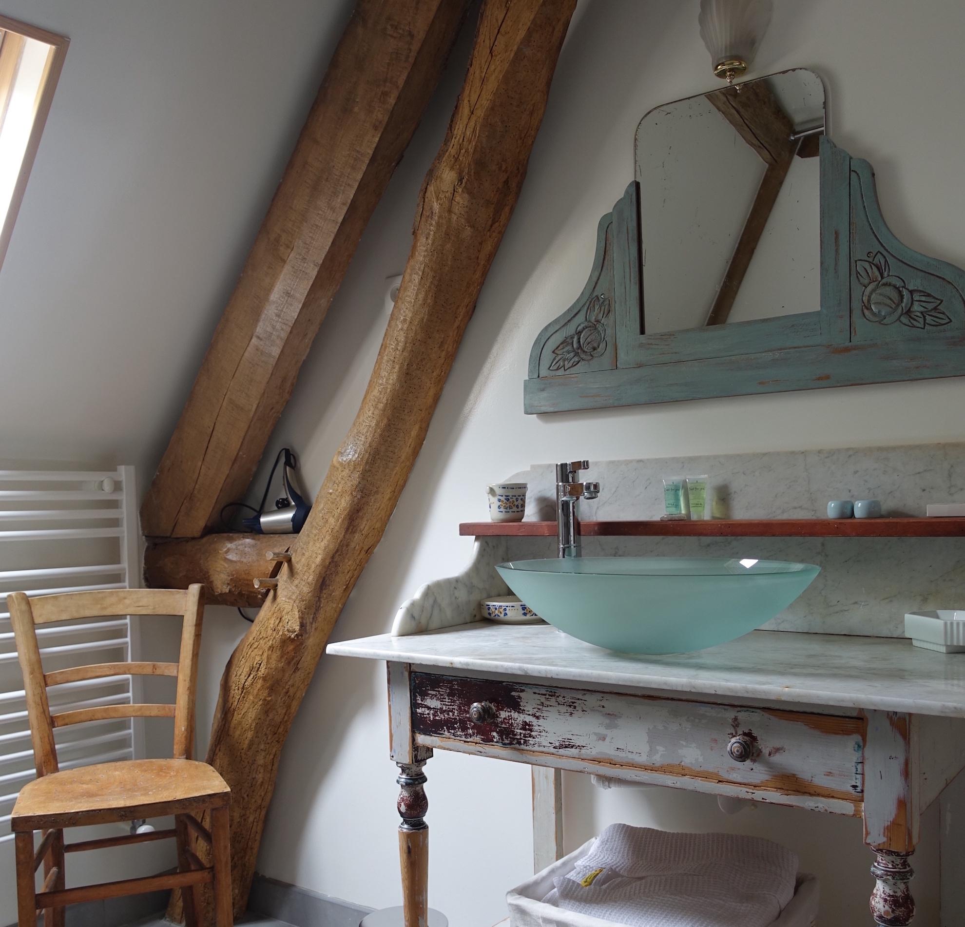 Salle de bains vintage