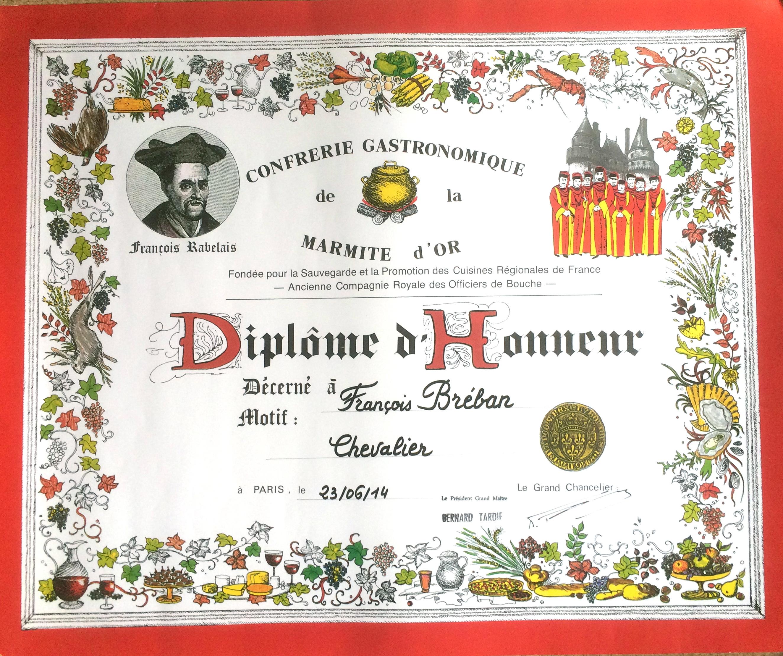 FrançoisChevalier de la Marmite d'Or