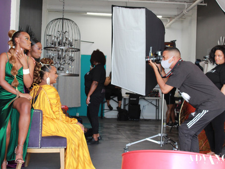 Behind The Scenes with Tabitha Brown & The Brown Family