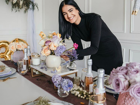 Making a Floral Footprint: 7 Questions with Detroit's Finest Florist - Naddine Ahmad