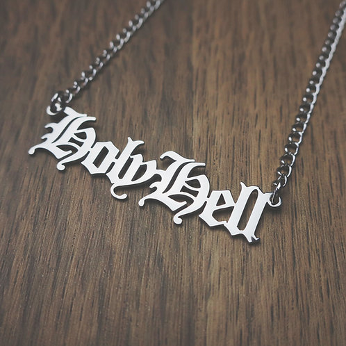 holy hell necklace