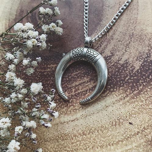 selene moon necklace
