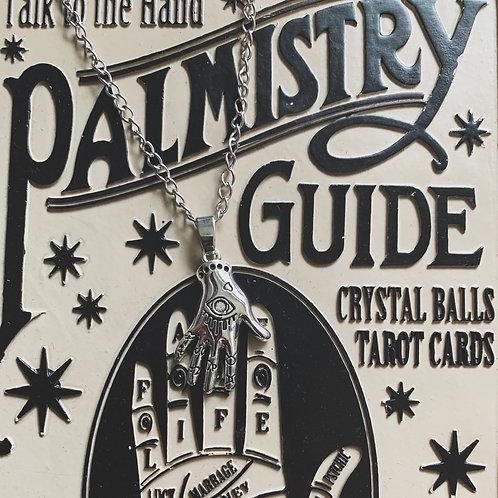 palmistry necklace