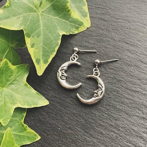 mr moon earrings
