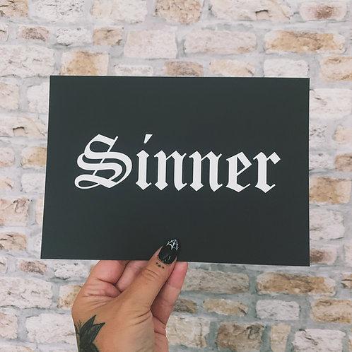 Sinner Print