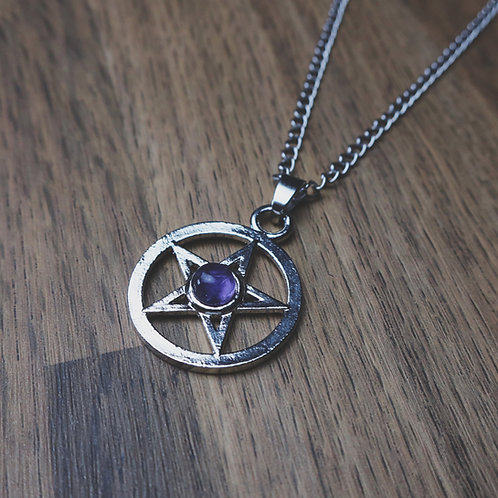 amethyst coven necklace
