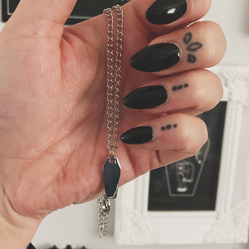 coffin necklace