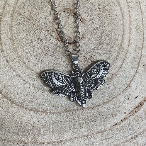 death moth necklace