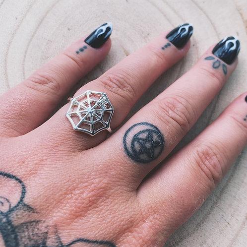cobweb ring