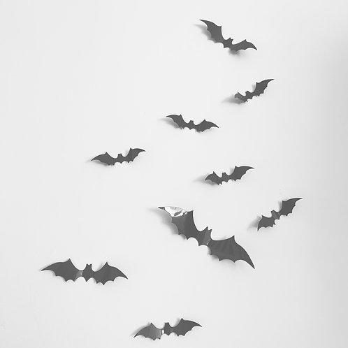 3d spooky bats