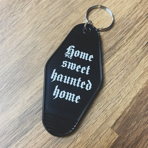 haunted hotel keyring