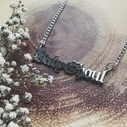 baby ghoul necklace