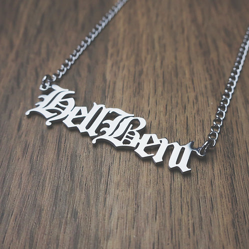 hell bent necklace