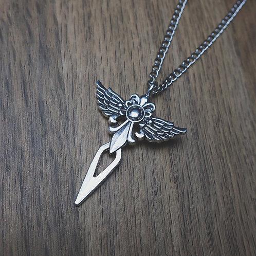 dark goddess necklace