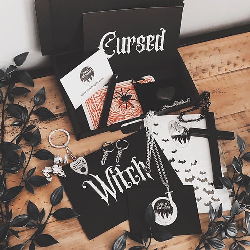 witches curse box