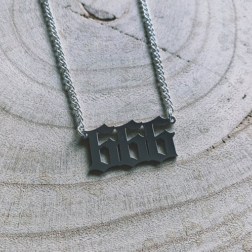 666 necklace