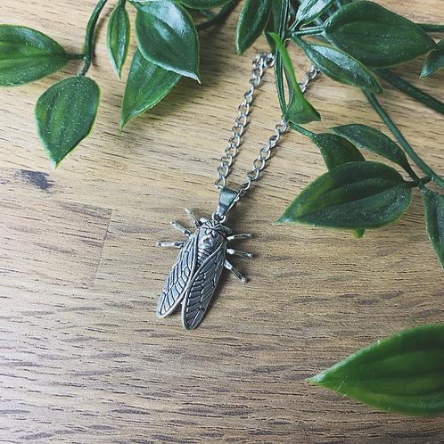 cicada necklace