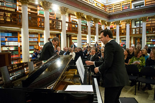 Duo Baltica at the National Library, Helsinki
