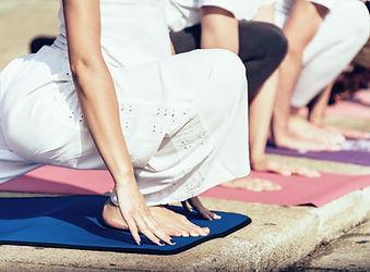 Yoga afuera