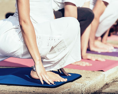 außerhalb Yoga