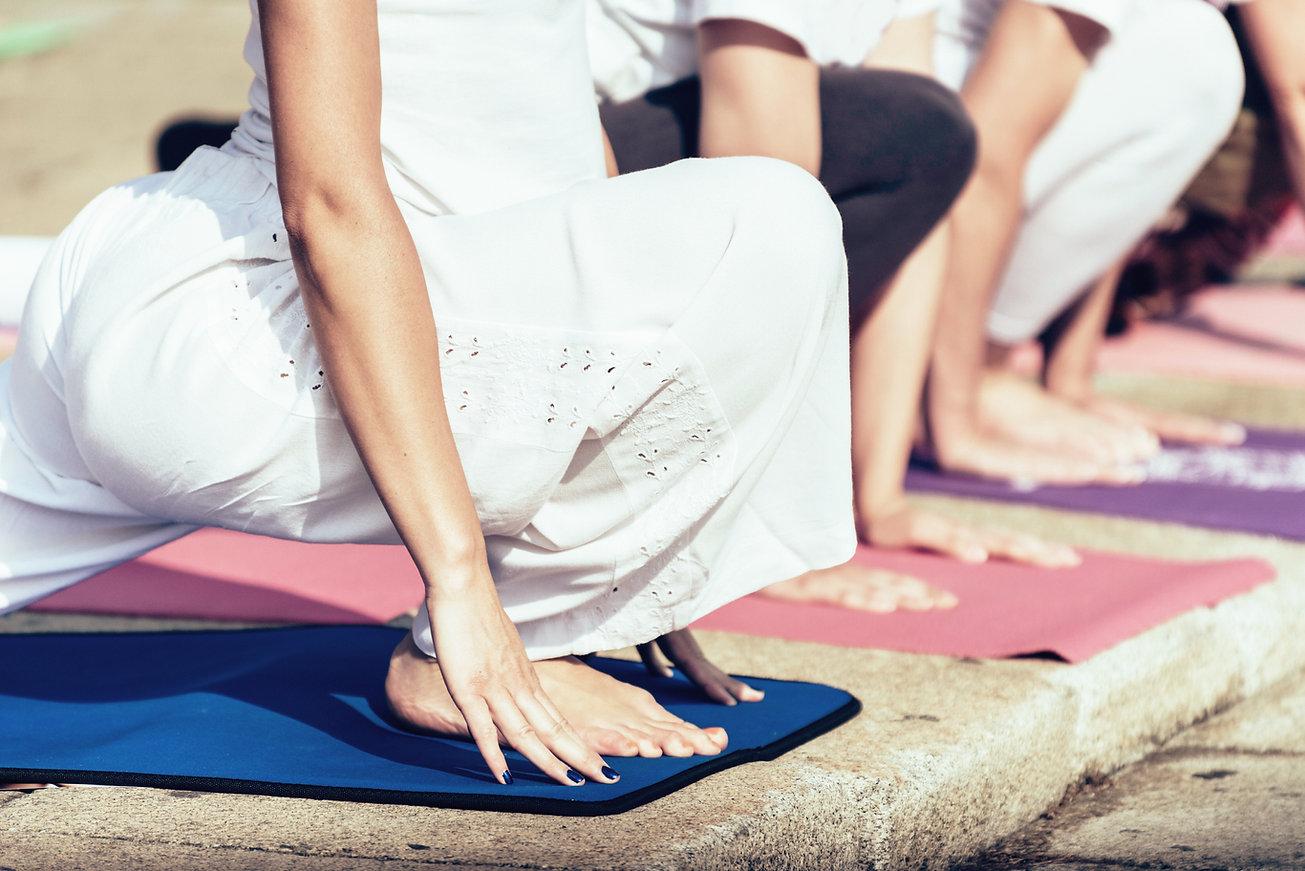 Yoga extérieur
