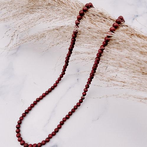 Purpleheart Mala Prayer Beads