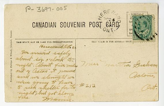 Hereward Post Office 1914