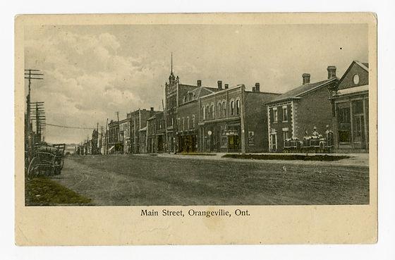 Main Street Orangeville 1914
