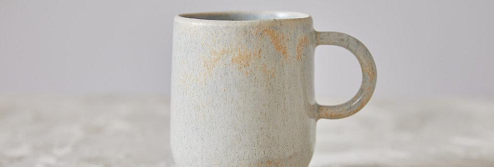 Elegant Ceramic Coffee Mug, Unique Latte Mug with Handle, Minimalist Handmade Tea Cup