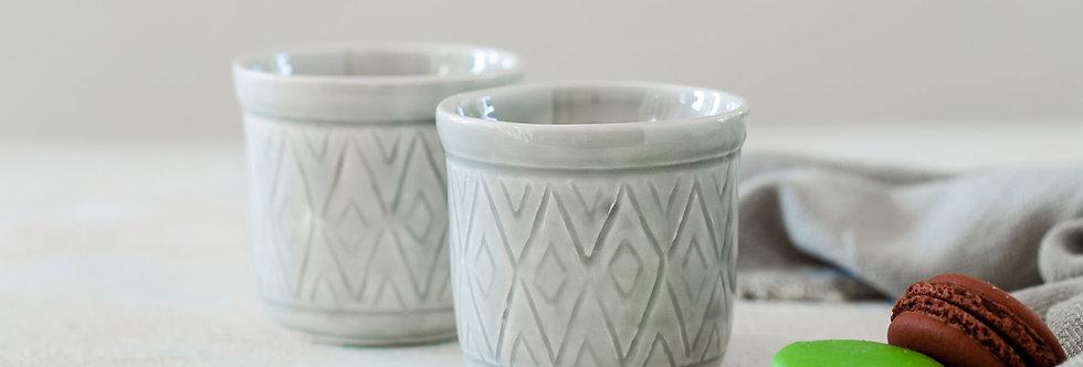 Geometric Texture Coffee Cup