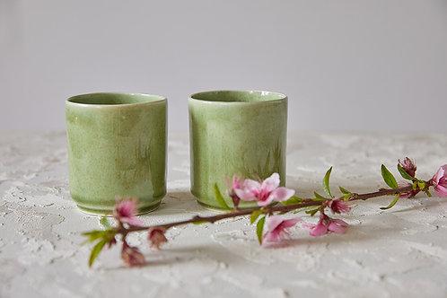 כוס לונגו ירוקה