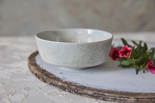 קערית אורז מקרמיקה, קערית בעבודת יד, קערית בצבע אבן, קערית בסגנון אסייתי