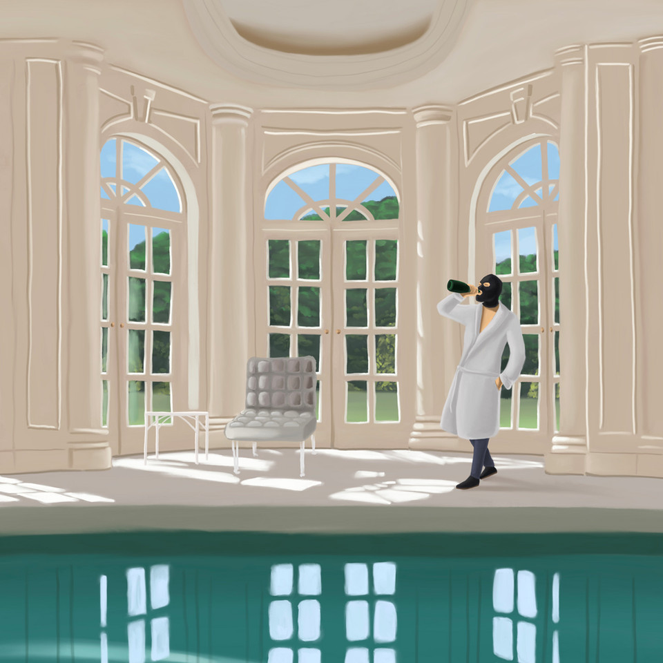 Hold my Moët while I pee in your pool