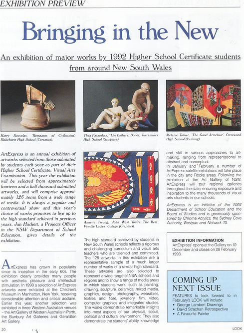 Artexpress review '92