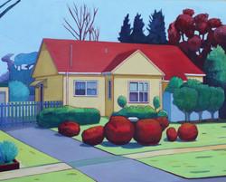 Red Shrubs, Ainslie