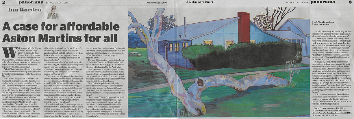 Green Space review Canberra Times