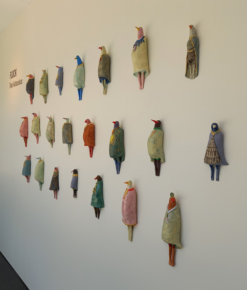Flock exhibition