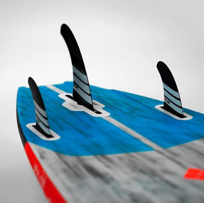 MFC thruster fin set