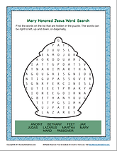 Mary Honored Jesus _ Bible Word Search.p
