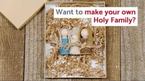 How to Make a DIY Holy Family Nativity Set