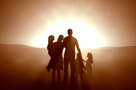A holy family is one totally dedicated to God