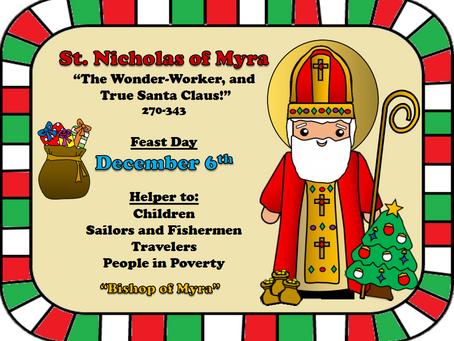 St. Nicholas - The Bishop Who Became Santa