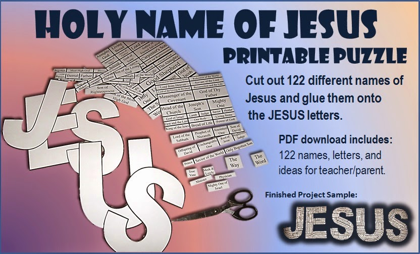 Name of Jesus Puzzle