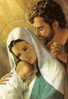 The Holy Family of Jesus, Mary & Joseph